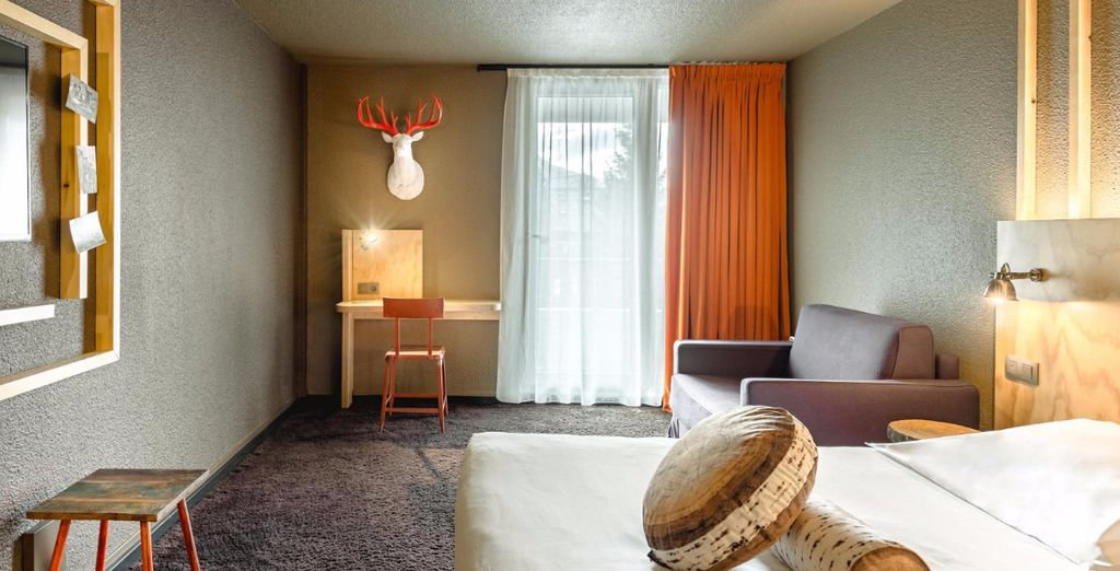 Each one showcases the hotel's signature contemporary decor (pictured: Superior Room)