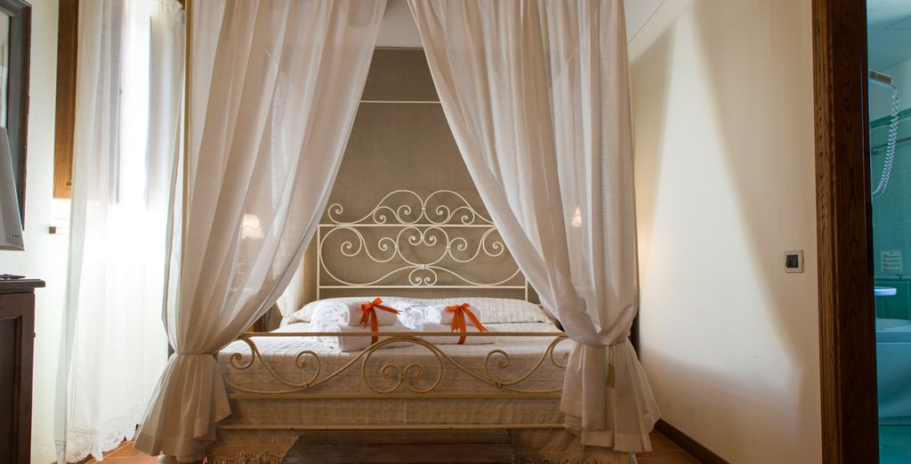 Stay in a romantic Superior Room