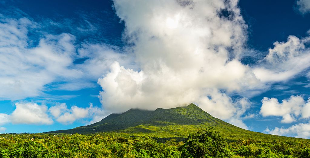Including the wild, unspoiled beauty of St Kitt's and Nevis