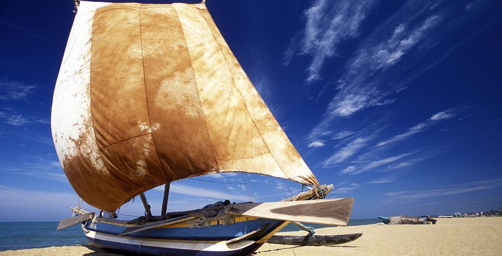 You will spend 7 days on the golden beaches of Negombo