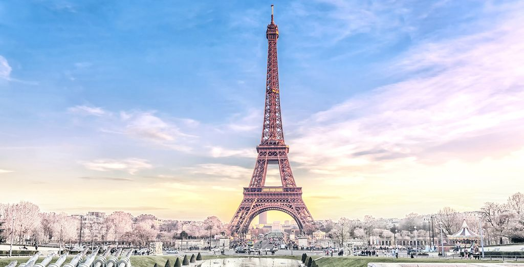 Or spend the day exploring Paris