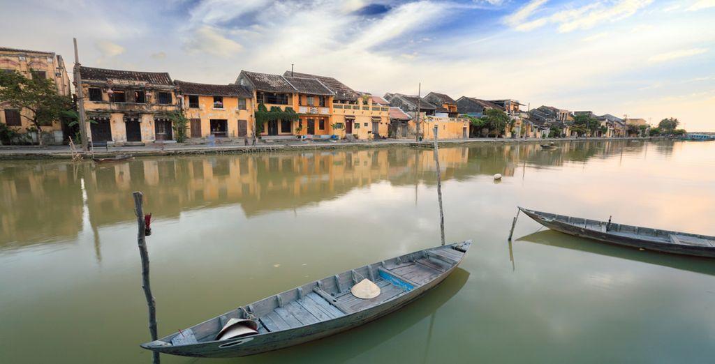 Authentic Vietnamese towns (Hoi An)