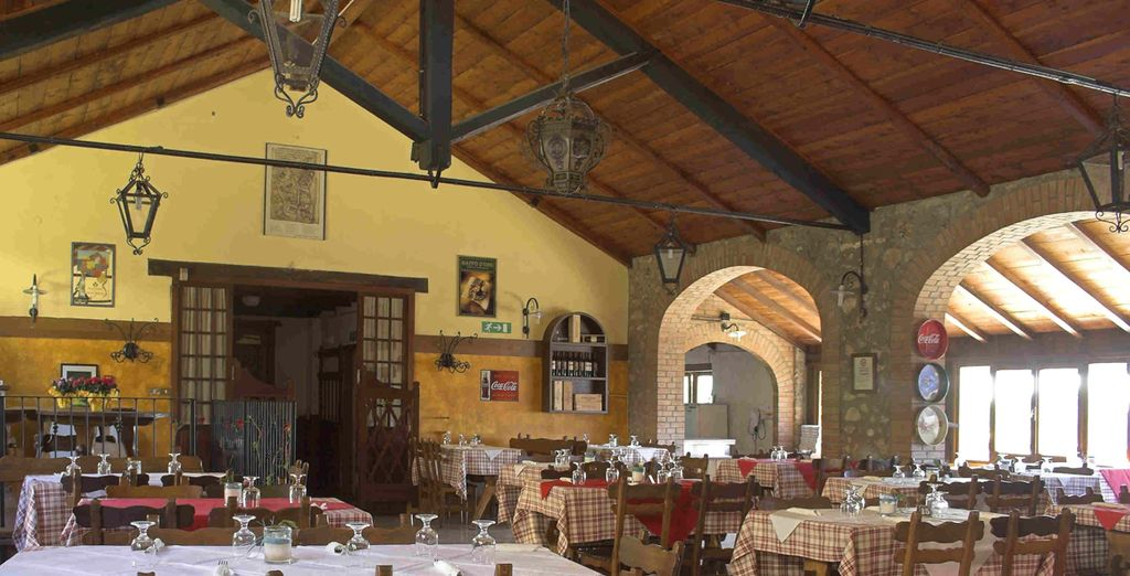 You can sample regional cuisine at the restaurant or relax with a drink at the bar