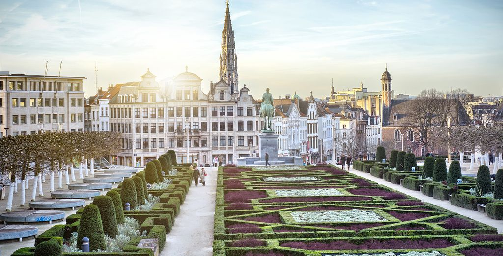 In historic Brussels - NH Collection Brussels Grand Sablon 4* Brussels