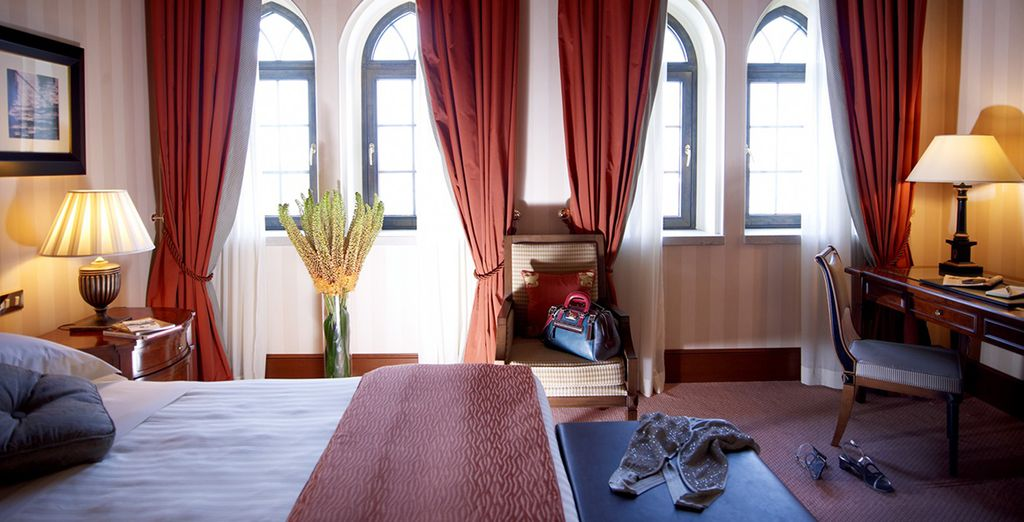 Or a Deluxe Room for New Year's Eve stays