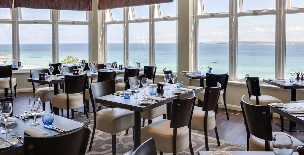 Dine with memorable views