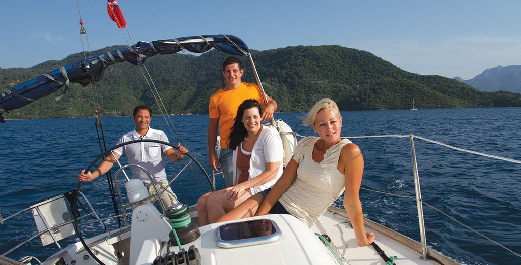 Your 6 person flotilla has everything you need