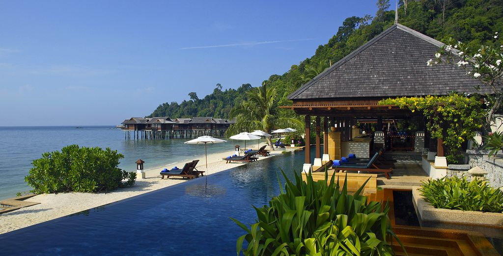 A private island and vibrant city experience in Malaysia