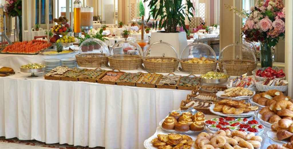 Take your pick from the buffet!