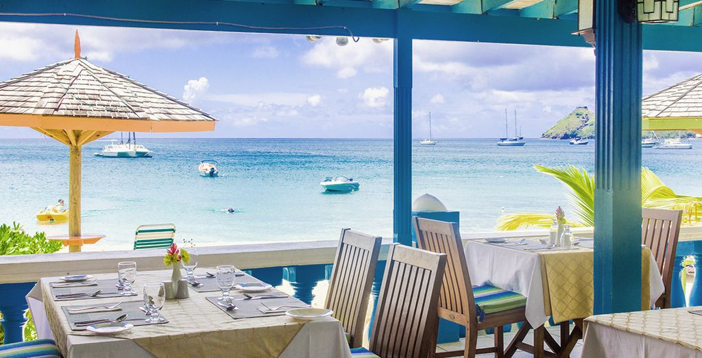 Dine with a view on this all inclusive break