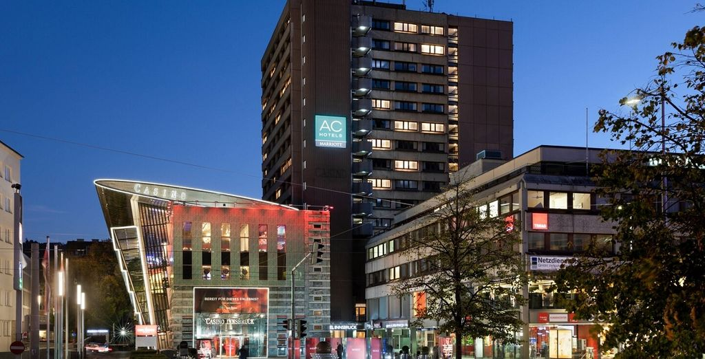 AC Hotel Innsbruck 4* & Stadtbesichtigung