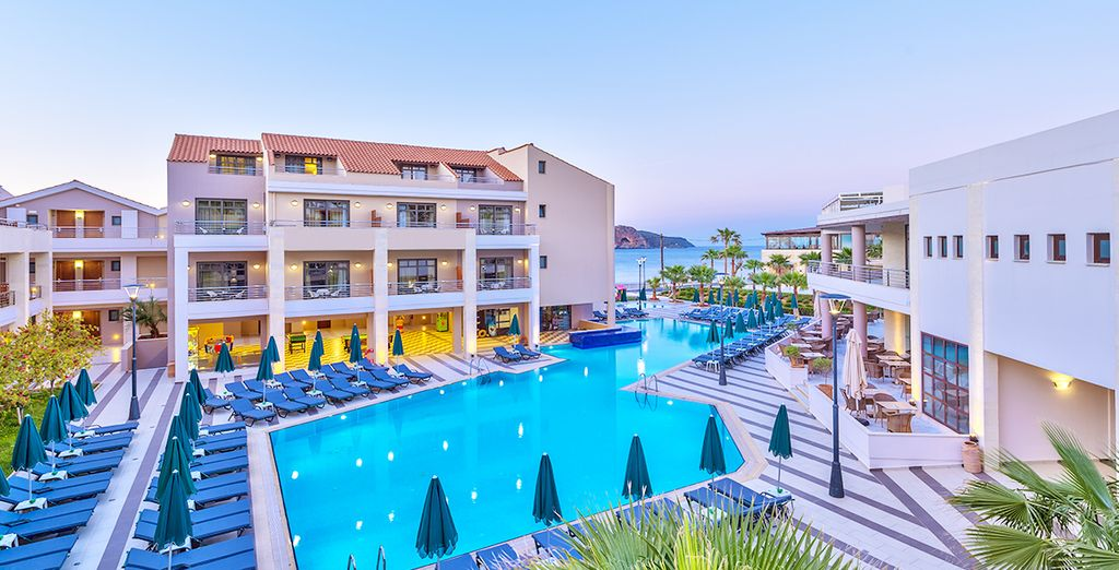 Le Porto Platanias Beach Resort & Spa 5* en Crète (Grèce)