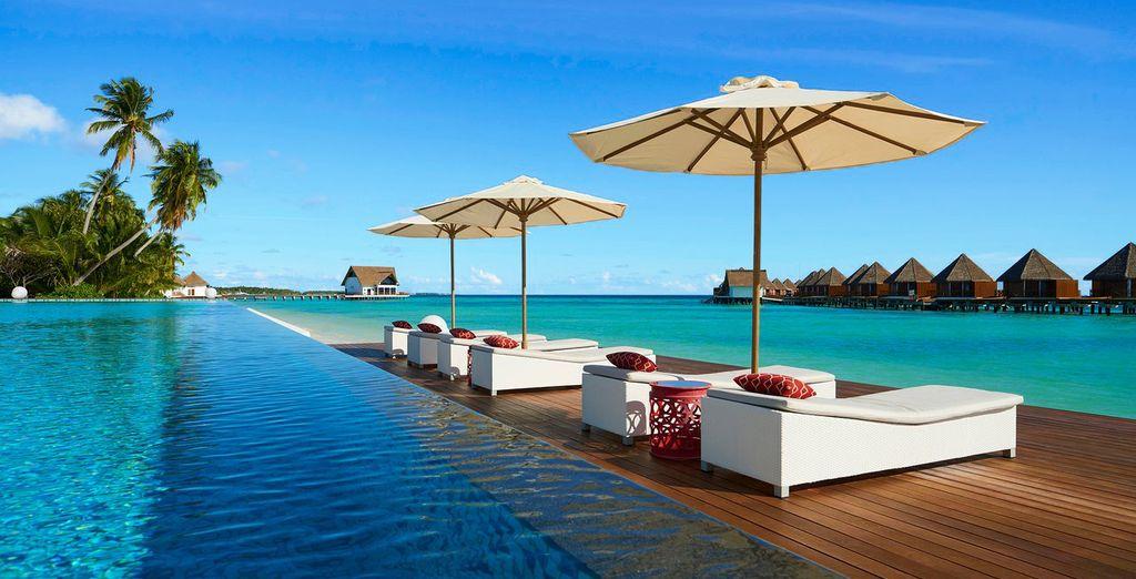Mercure Maldives Koodoo Resort 4* und optionaler Stopover in Dubaï