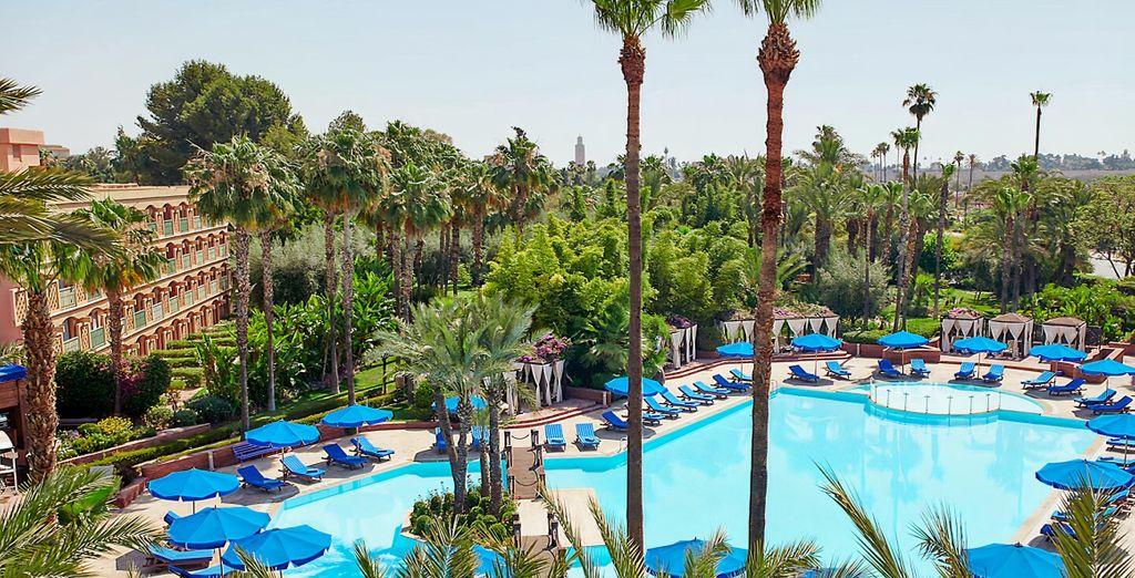 Hôtel Le Meridien N'Fis 5* - Maroc où loger