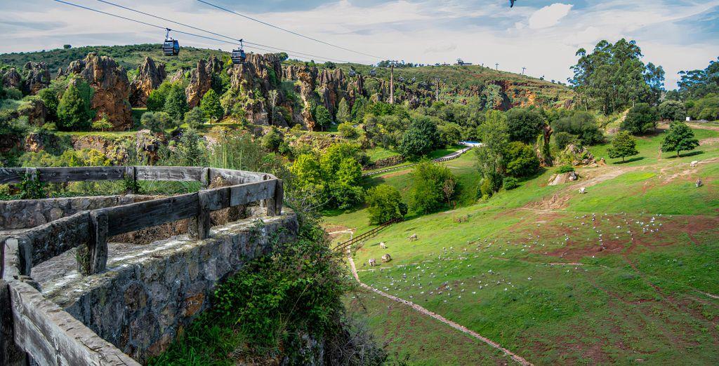 Escapada en Cantabria con Cabarceno y Soplao
