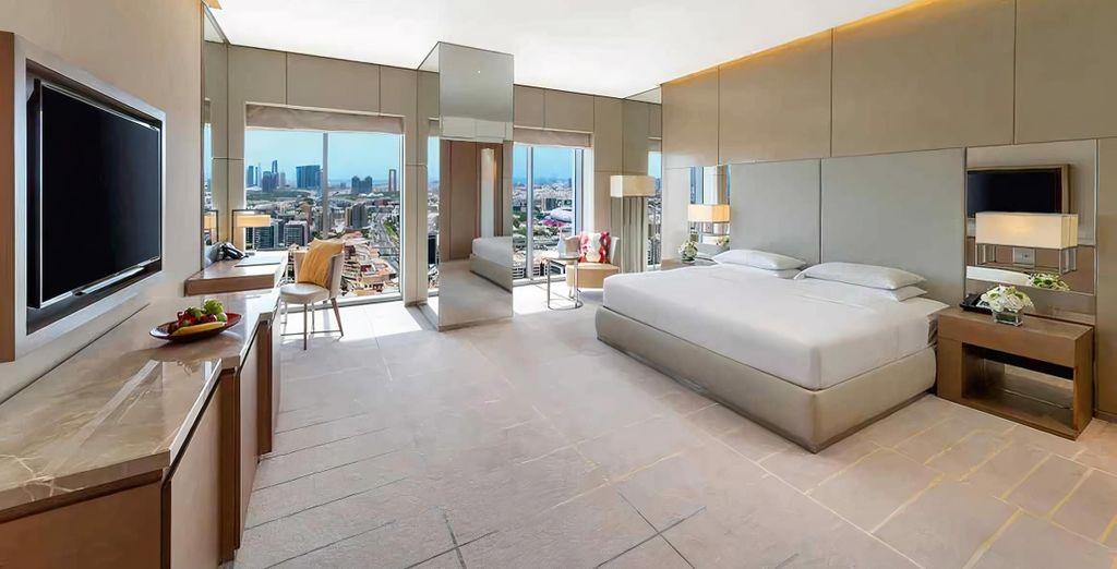 Kombireise Hyatt Regency Dubai Creek Heights 5* und Hondaafushi Island Resort Maldives