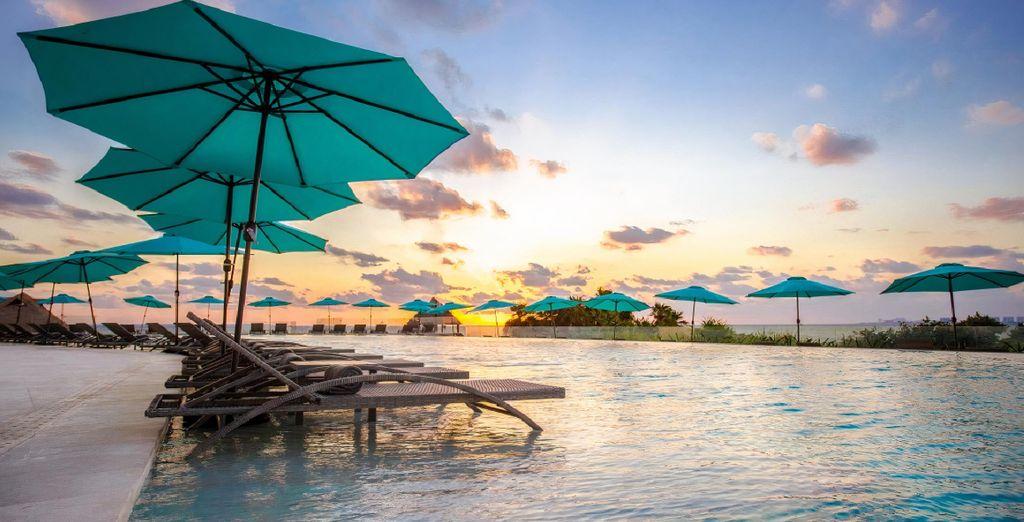 Hotel Dreams Vista Cancun 5* & optionale Mini-Rundreise Yucatan
