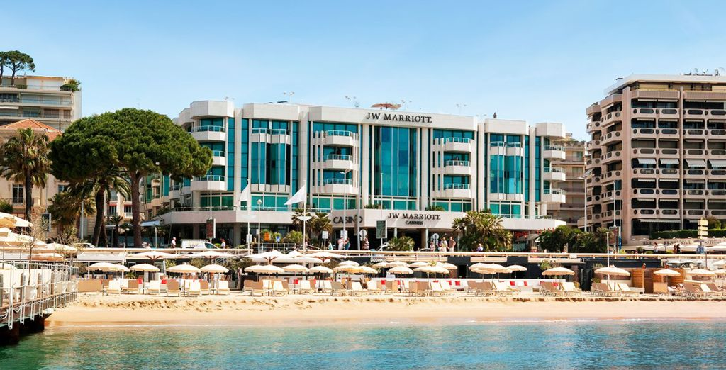Hôtel JW Mariott Cannes 5*