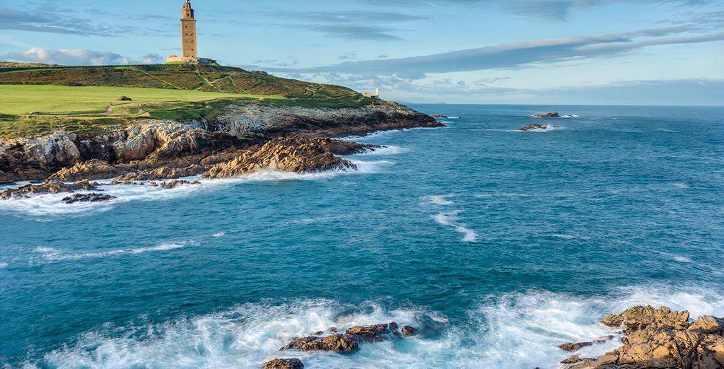 Galicia en Paradores