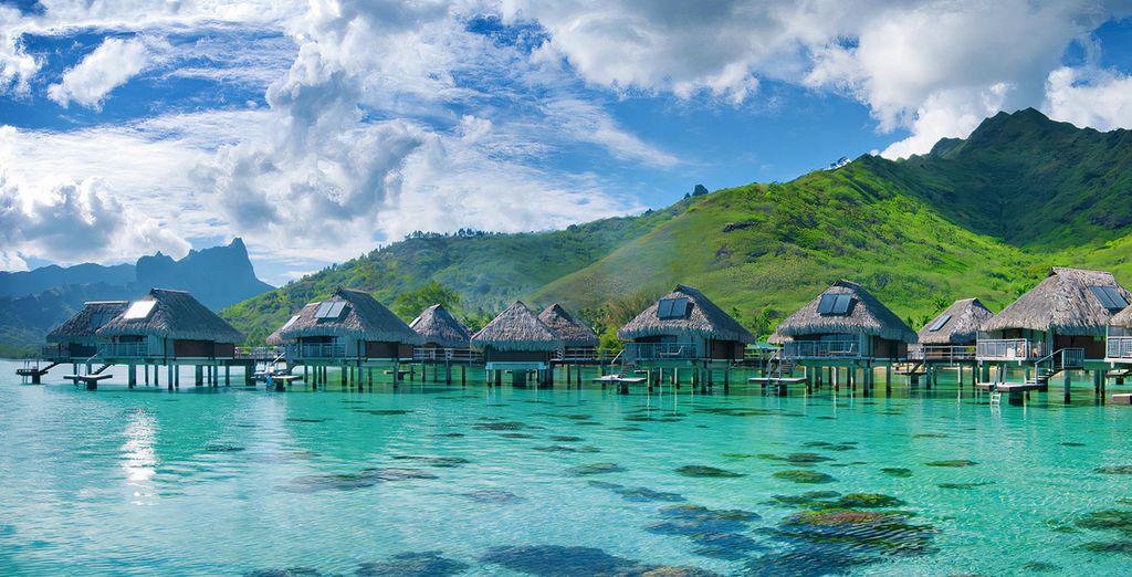 Combinado islas de la Polinesia: Tahití, Moorea y Bora Bora