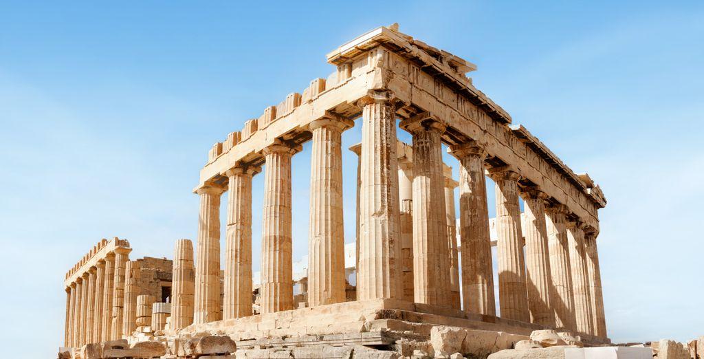 Tour of Athens, Syros and Santorini