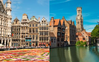 NH Brussels Carrefour de l'Europe 4* y Duke's Palace 5*