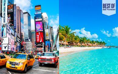 AC Marriott NY Times Square y Barceló Maya Caribe 5*