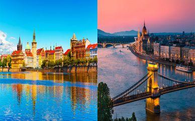 Combiné 4* Prague et Budapest