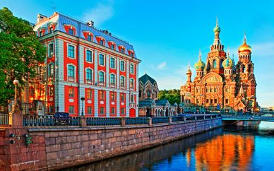 Crociera sul Fiume da San Pietroburgo a Mosca