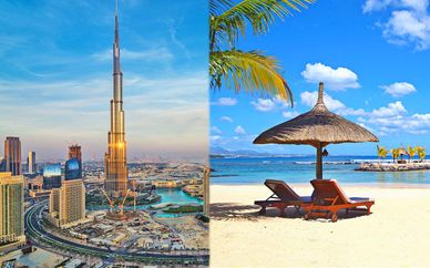 Crowne Plaza Dubai Festival City 5* + InterContinental Mauritius Resort Balaclava Fort 5*