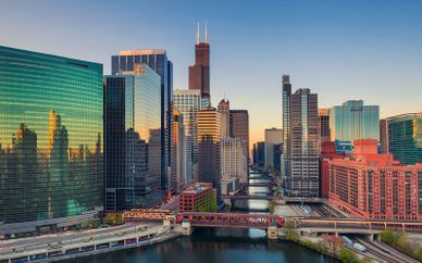 Hilton Chicago 4* and Optional Four Points by Sheraton Downtown New York 4*