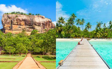 Sri Lanka Tour & Paradise Island Resort & Spa Maldives 5*