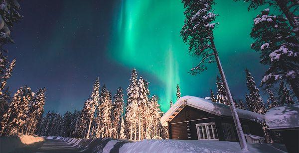 Cercle Polaire, Safari neige et Village du Père Noël