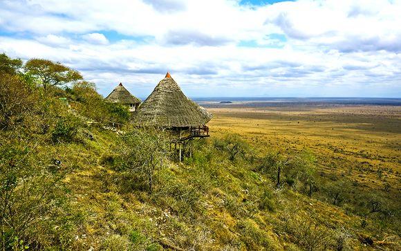 2 nachten safari: Shimba Hills National Reserve & Ngutini/Taita Hills