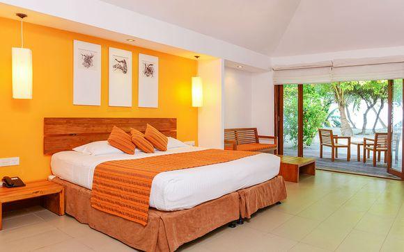 Uw strandverlenging in hotel Adaaran Select Hudhuranfushi 4*