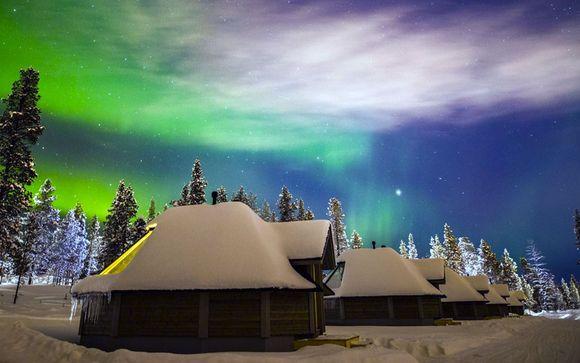 Resultado de imagem para Saariselka Northern Lights Village