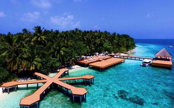 Uw inbegrepen verlenging naar de Malediven