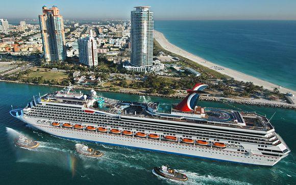 Uw optionele Bahama's cruise (bij aanbieding 2)