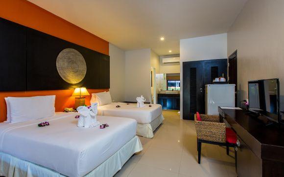 Uw optionele verlenging naar Phuket