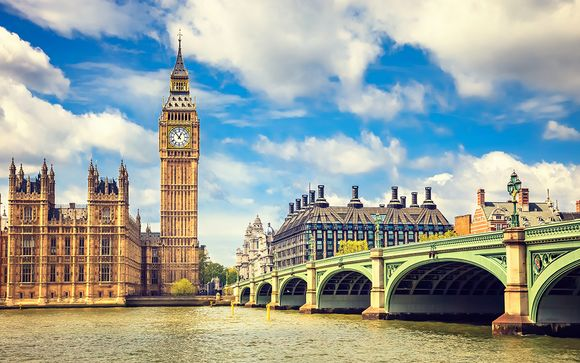 Willkommen in... London!