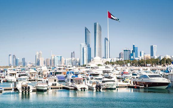 Willkommen in Abu Dhabi