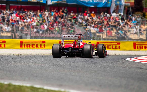 Formel 1 Circuit in Barcelona, Katalonien