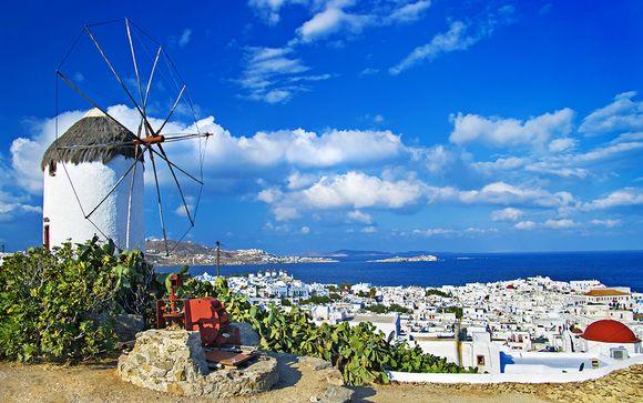 Willkommen in... Mykonos!