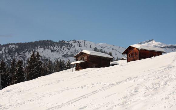Das Skigebiet Laax
