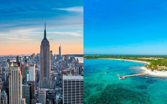Wyndham New Yorker Hotel 4* und Barceló Maya Beach 5*