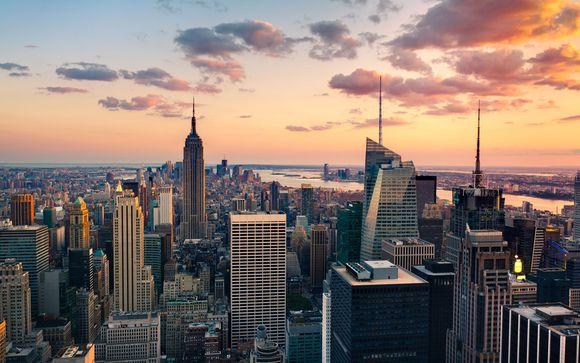 Willkommen in...New York!