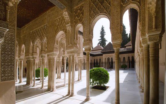 Alhambra - Granada in Spanien