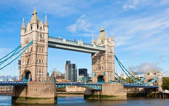 Willkommen in... London !