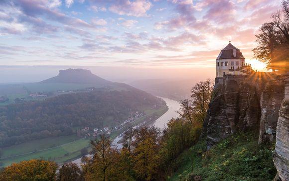 Willkommen in... der Sächsischen Schweiz!