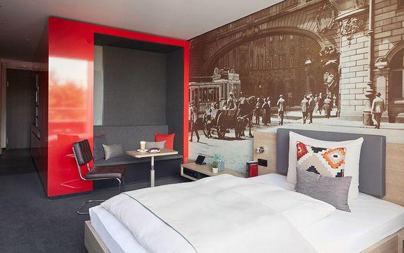 Moderne Auszeit in einem 4* Stadthotel